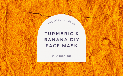 DIY Turmeric & Banana Glowing Skin Face Mask